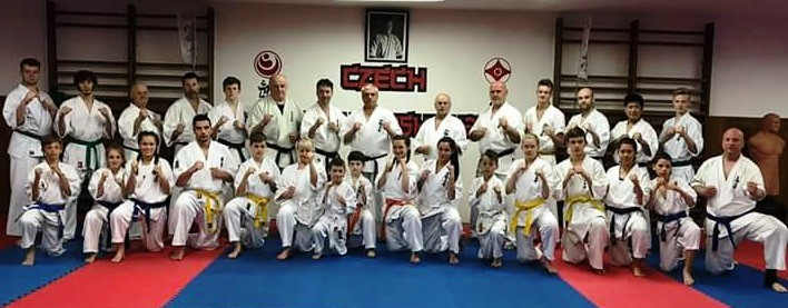 Galerie Seminář Kyokushin Karate pod vedením Shihana Alexandra Goncharenka V. Dan, 01.5.2018 Sokolov