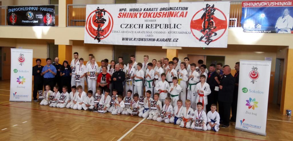 Fotogalerie 2. Kolo Ligy Kumite Shinkyokushin Karate 26. 5. 2018 Františkovy Lázně