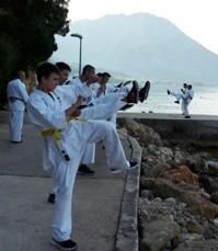 Hlavní mezinárodní letní tábor České Asociace Shinkyokushinkai-Oyamas Karate 2018 Chorvatsko