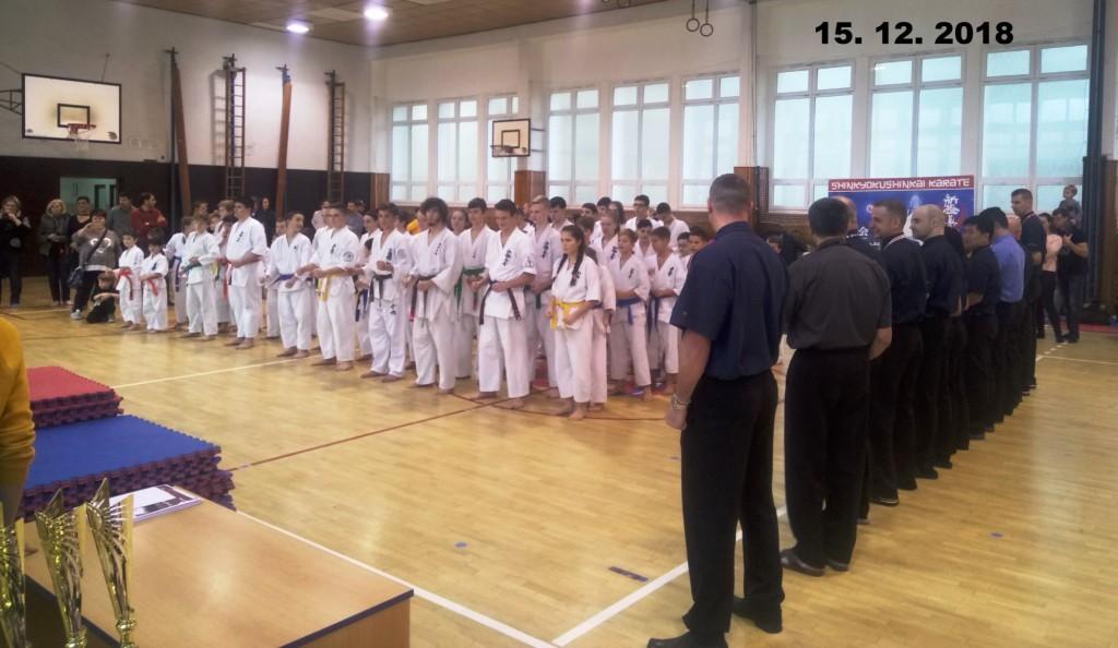 Jak dopadlo 4. kolo Ligy kumite v Shinkyokushin Karate 15. 12. 2018 v Sokolově