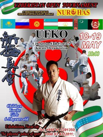 (UFKO) UZBEKISTAN FULL CONTACT KARATE ORGANIZATION INTERNATIONAL CHAMPIONSHIP 2019/ 18-19 MAY WKO UZBEKISTAN
