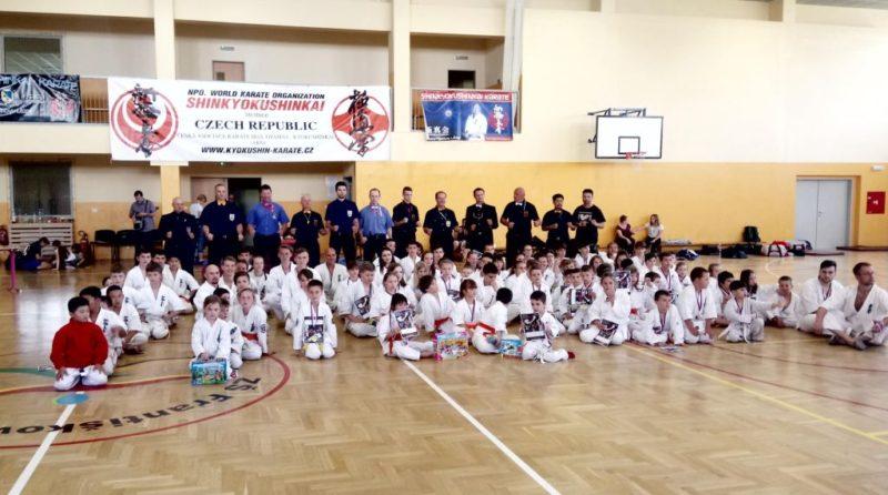 Výsledky Ligy kumite Shinkyokushin karate 2. kolo 8. 6. 2019 Františkovy Lázně